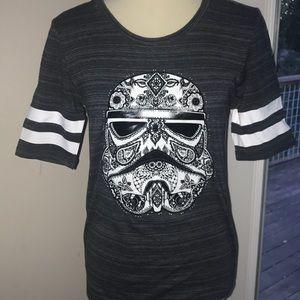 Star Wars Stormtrooper Sugar Skull T-Shirt NWOT